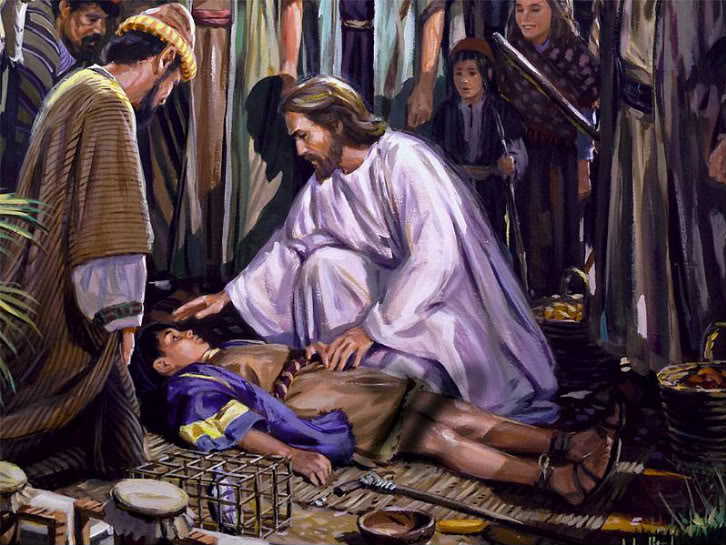 JESUS HEALS A SMALL BOY